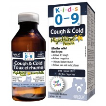 Kids 0-9 Cough & Cold Nighttime Formula Syrup 250 ml