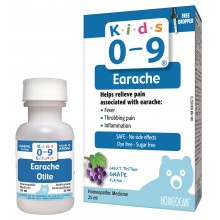 Kids 0-9 Earache Oral Solution 25 ml