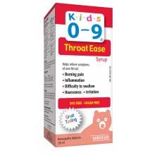 Kids 0-9 Throat Ease Syrup 250 ml (8.45 oz)