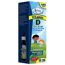Omega Alpha Vitamin D3 Kids Drops 500IU 30ml